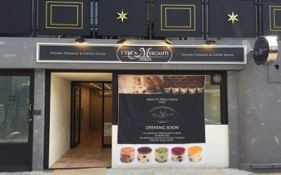 New I TRE MERCANTI Italian Tiramisù & Coffee House to open in Gangnam, Seoul in early 2016