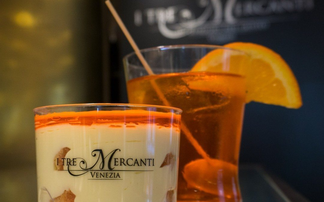 Introducing the Spritzamisù by I Tre Mercanti